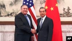 China Asia Pompeo