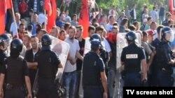 Protesti u Mušutištu