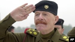 FILE - Iraqi Vice chairman of the Revolutionary Command Council, Izzat Ibrahim al-Douri.