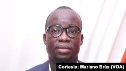 Mariano Brás, jornalista angolano