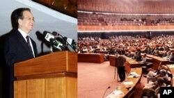 چینی وزیراعظم کا پارلیمنٹ سے خطاب
