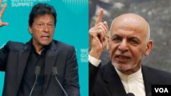 ပါကစၥတန္ဝန္ႀကီးခ်ဳပ္ Imran Khanနဲ႔ အာဖဂန္သမၼတAshraf Ghani