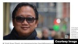 Trịnh Xuân Thanh trên tờ Suedeutsche Zeitung của Đức.