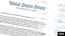 Cumhuriyetçi Senatörlerin İran'a Açık Mektubu
