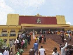 Le reportage de Freeman Sipila à Bangui