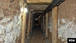 El túnel estaba conectado con un depósito en California localizado en el mismo vecindario de San Diego, donde fue descubierto el anterior