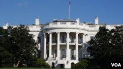 Los investigadores encontraron un arma semiautomática y algunos casquillos de balas en un auto en cercanías de la Casa Blanca.