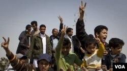 Barack Obama destacó que la rápida actuación de la coalición salvó la vida a innumerables civiles y niños inocentes..