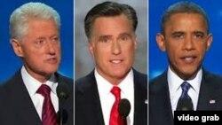 clinton romney obama
