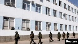 Forca ruse në komandën e marinës në Sevastopol