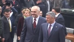 Mbledhja e parë Kosovë-Shqipëri