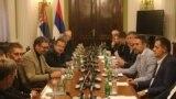 Učesnici međustranačkog dijaloga bez posrednika iz inostranstva (foto Fonet)