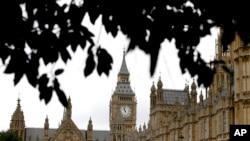 영국 의회 건물. (자료사진)