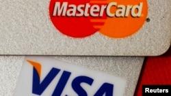 美国信用卡Mastercard(万事达)和Visa(维萨)