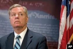 FILE - Senator Lindsey Graham