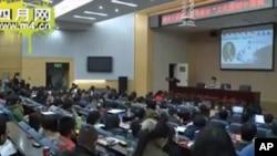 司马南11月19日在中国青年政治学院做演讲