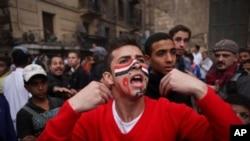 开罗抗议者