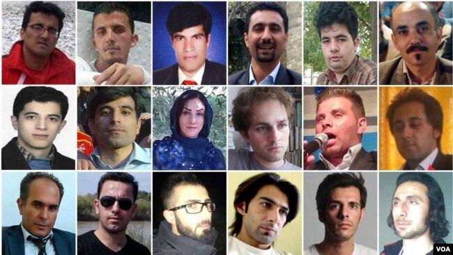 """Oktyabr 2015-də """"anti-irqçilik"""" etirazlarında tutulanlar"""