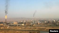 Beyci petrol rafinerisinin genel görünümü