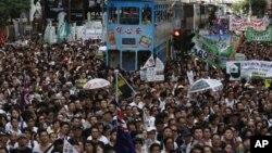 Гонконг. 1 июля 2012 г.
