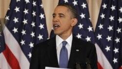 حمایت اوباما از درخواست فلسطینیان درباره مرزهای کشور آینده فلسطینی