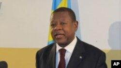 Lambert Mende, ministre congolais des Communications (Archives)
