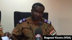 Sita Sangaré, nouveau directeur de la justice militaire du Burkina Faso.