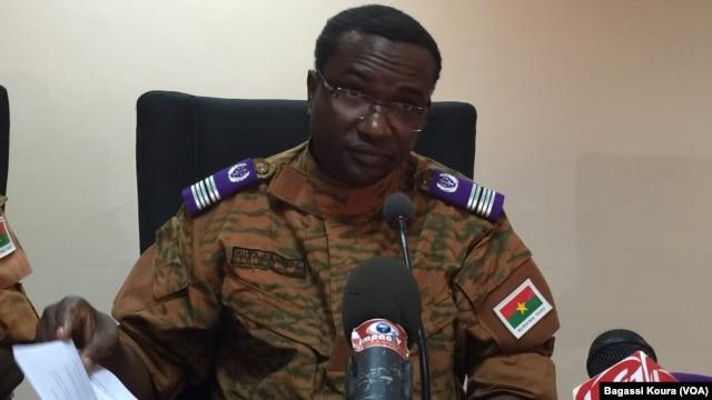 Sita Sangaré, nouveau directeur de la justice militaire du Burkina Faso