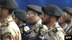 Военнослужащие Корпуса стражей Исламской революции