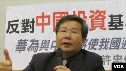 台灣團結聯盟立法委員許忠信