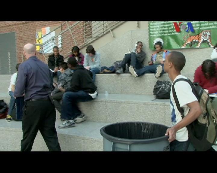 Cucut di Woodrow Wilson High School - Liputan Pop News untuk Dahsyat April 2012
