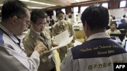 Các chuyên gia phân tích dữ liệu từ các bức xạ bị rò rỉ ở nhà máy hạt nhân Fukushima, Nhật Bản, 19/3/2011