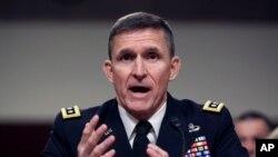마이클 플린 전 미 국방정보국장 (자료사진)