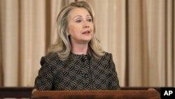 La secretaria de Estado de EE.UU., Hillary Clinton, participó en el Foro de Cooperación Energética y Comercial entre Estados Unidos y África Subsahariana.