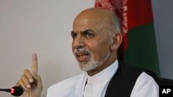 Avganistanski predsednički kandidat Ašraf Gani