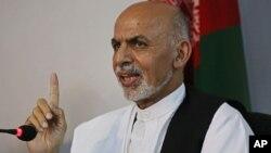 Presiden Ashraf Ghani mengutuk pemenggalan warga sipil oleh militan ISIS di Afghanistan selatan (foto: dok).