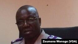 Alioun Zanré, commissaire du gouvernement près du tribunal militaire, Ouagadougou, Burkina Faso, 8 décembre 2016. (VOA/Zoumana Wonogo).