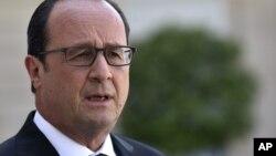 ျပင္သစ္သမၼတ Francois Hollande