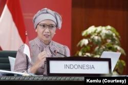 Menteri Luar Negeri RI Retno Marsudi. (Foto: Courtesy/Kemlu)