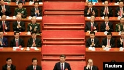 Nan mitan Prezidan chinwa a, Xi Jingping.