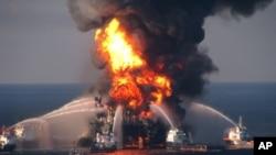 La fuga en el pozo Deepwater Horizon vertió al mar más de 200 millones de galones de petróleo.