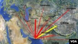 د چين – پاکستان د دهليز له لاری افغانستان ته ډيره پانگه جلبيدلائ شي