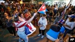 Американці кубинського походження радіють з приводу смерті диктатора