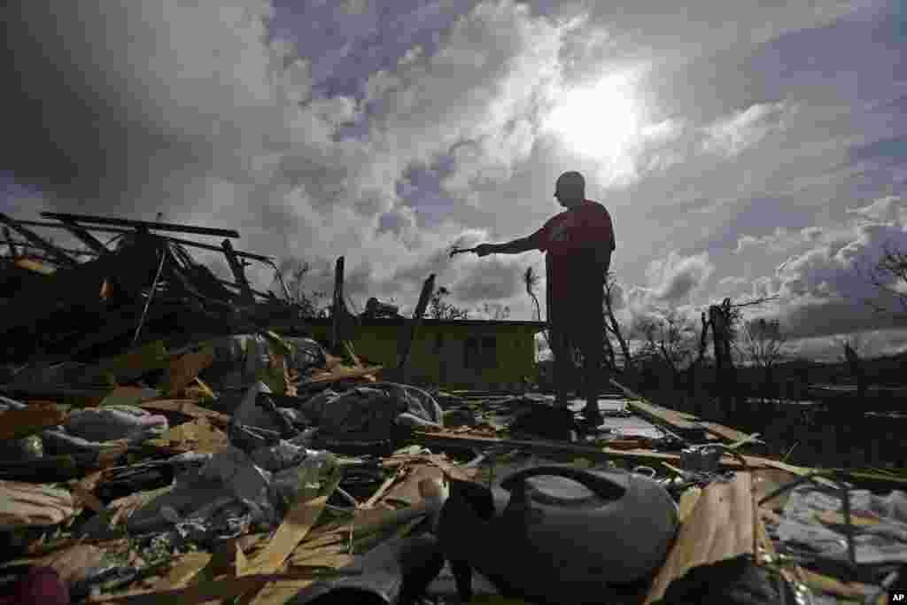 У экспертов нет сомнений в том, что без посторонней помощи страна может не оправиться от разрушительного урагана.