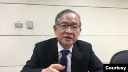 台灣國家政策研究基金會國安組召集人林郁方。(圖/陳筠攝)