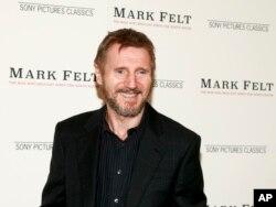 "Liam Neeson en la premiere de Mark Felt: The Man Who Brought Down The White House"".The Whitby Hotel, New York, Sept. 21, 2017."