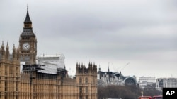 Лондон, здание парламента (архивное фото)