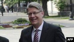 Президент Латвии Валдис Затлерс