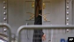 سعودی صحافی جمال خشوگی کے مبینہ قتل کے بعد دونوں ملکوں کے تعلقات کشیدہ ہو گئے تھے۔