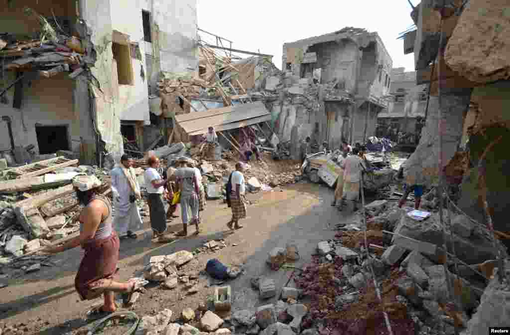 اقوام متحدہ نے کہا ہے کہ یمن میں جاری لڑائی میں گزشتہ دو سالوں کے دوران دس ہزار شہری مارے جا چکے ہیں۔